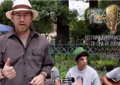 Vidéo Invitacion al Festival Intenacional de cine de Cuenca