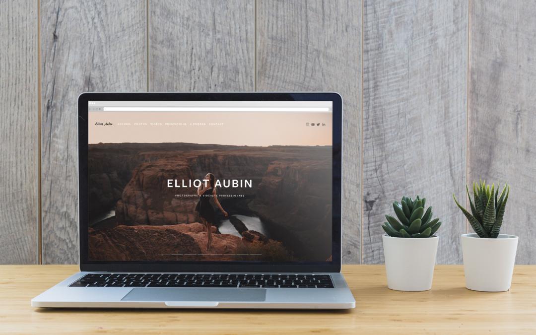 Stratégie, Site web et Linkedin Elliot Aubin